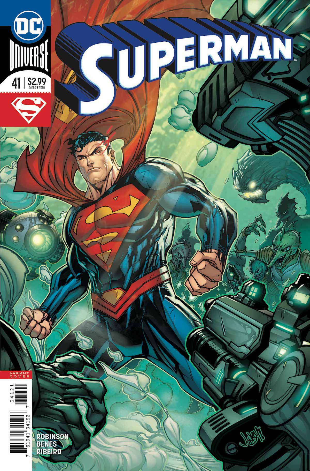 Superman #41 variant cover