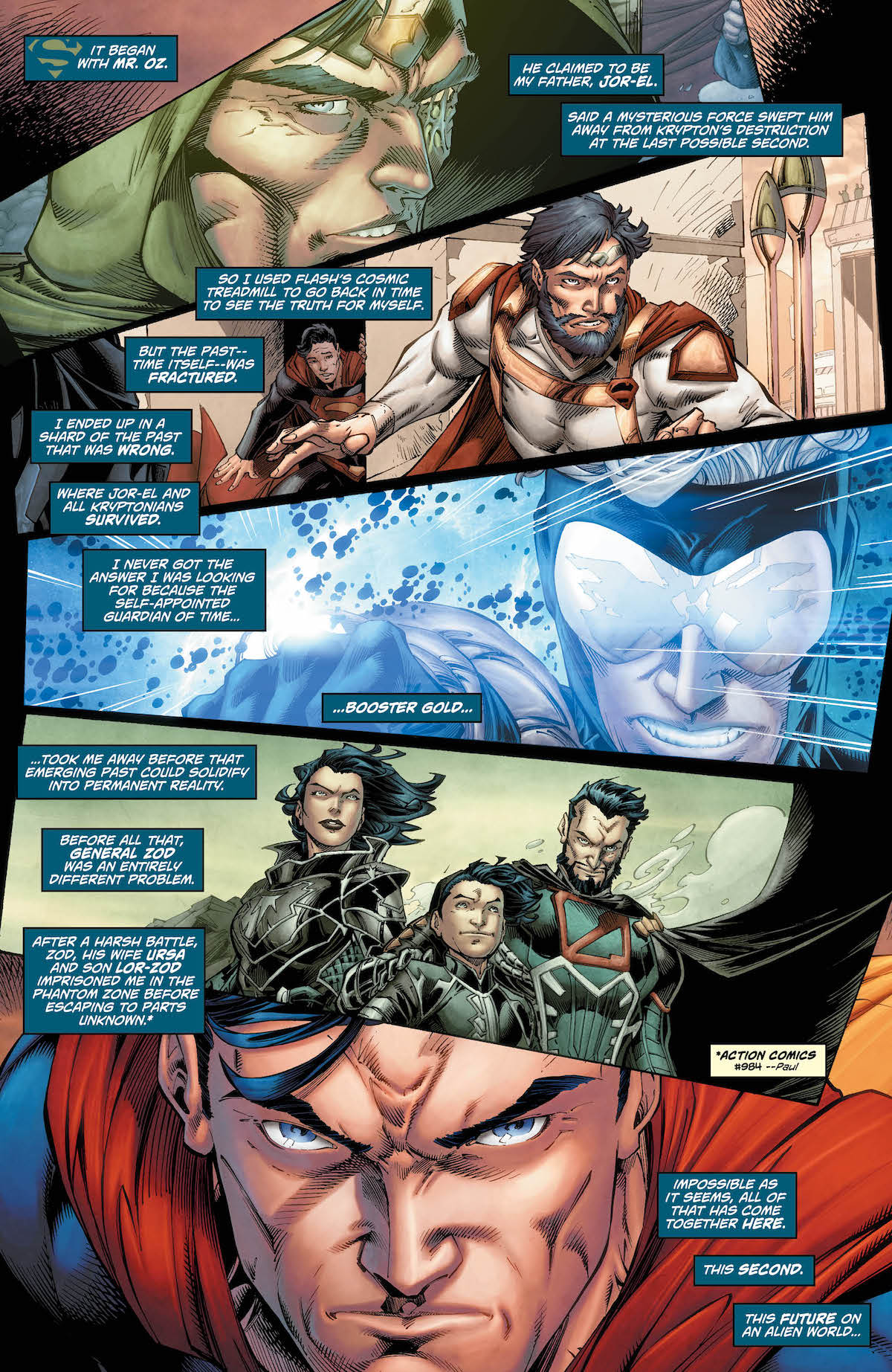 Superman: Action Comics #997 page 1