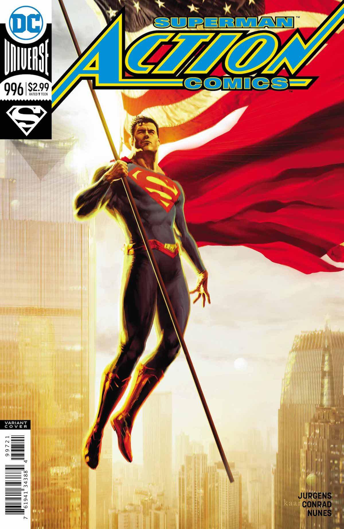 Superman: Action Comics #997 variant cover