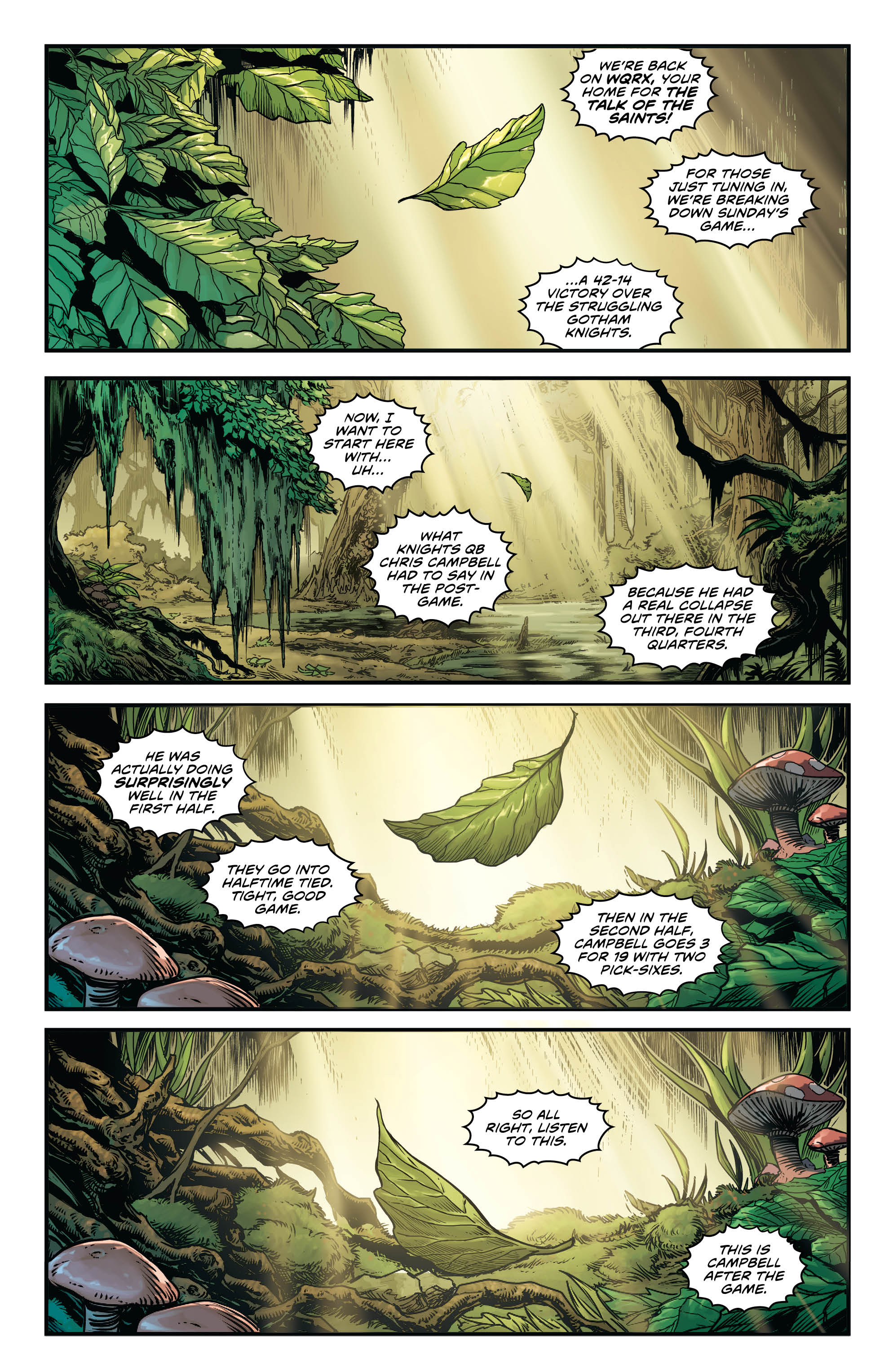 Swamp Thing Winter Special #1 page 1