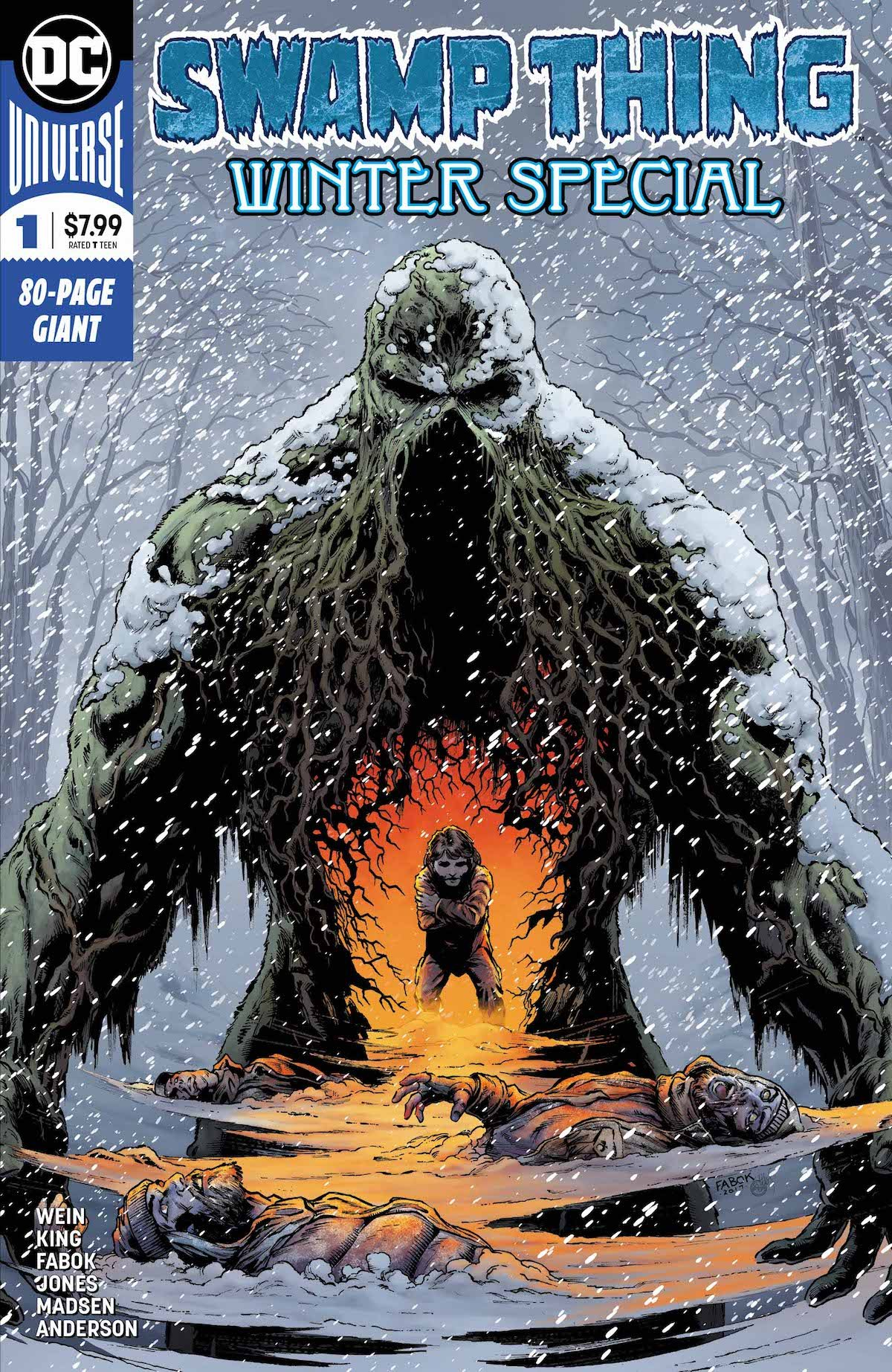 Swamp Thing Winter Special #1 cover