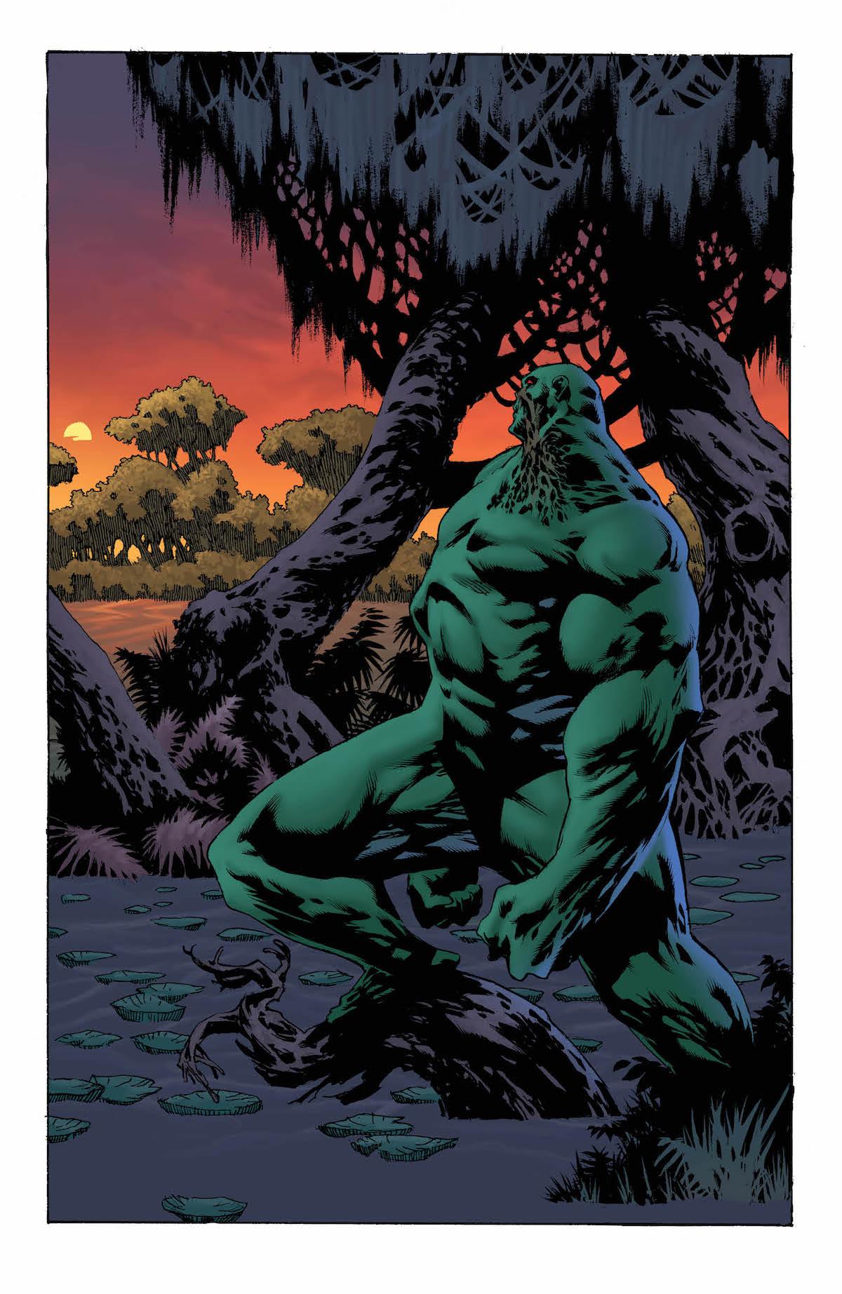 Swamp Thing Winter Special #1 Len Wein