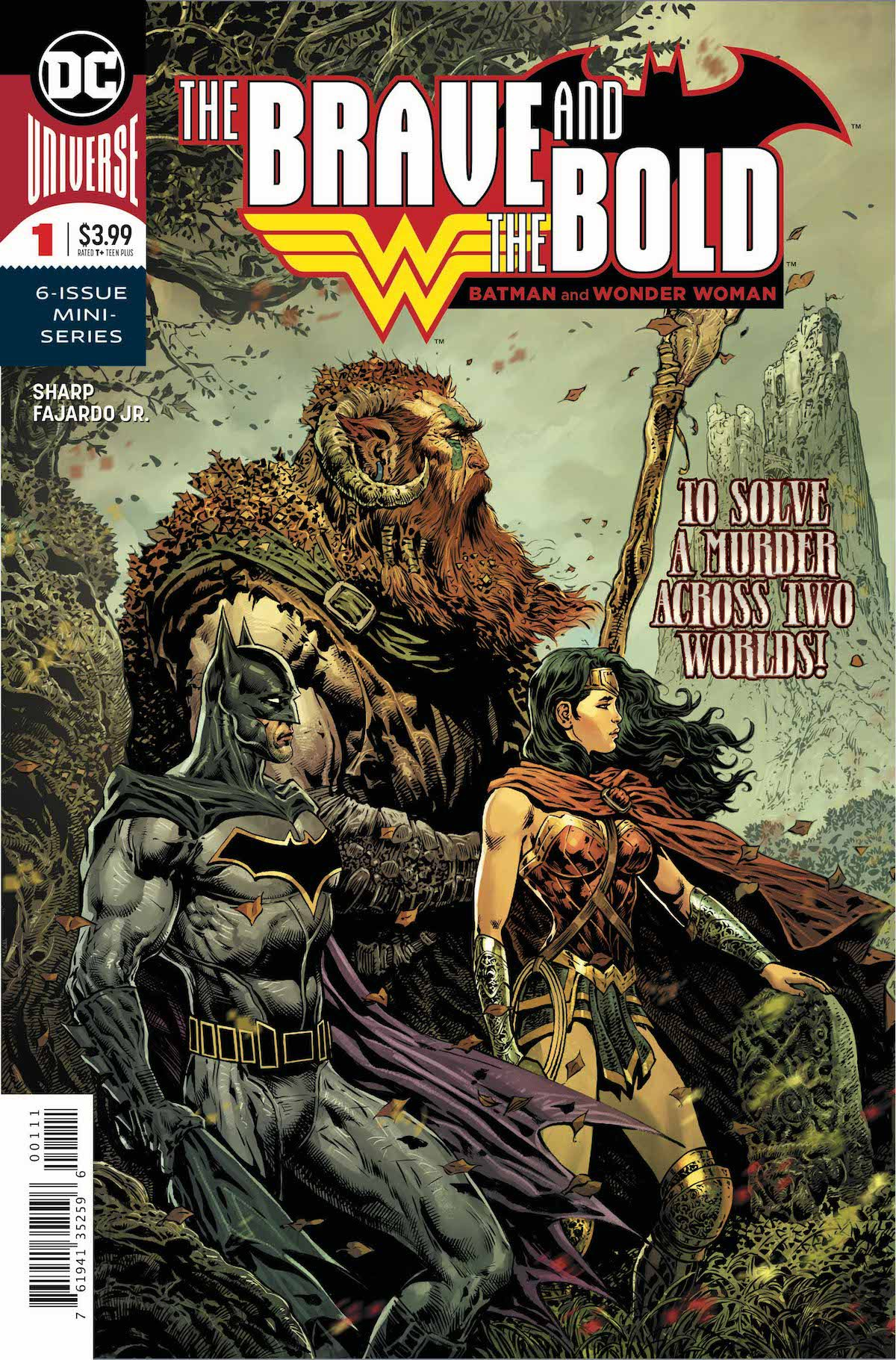 The Brave and the Bold: Batman and Wonder Woman #1 cover