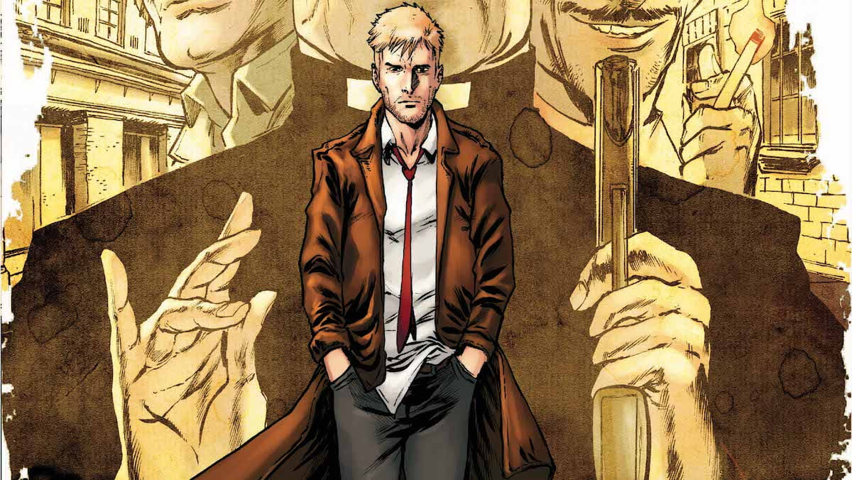 The Hellblazer #19 cover