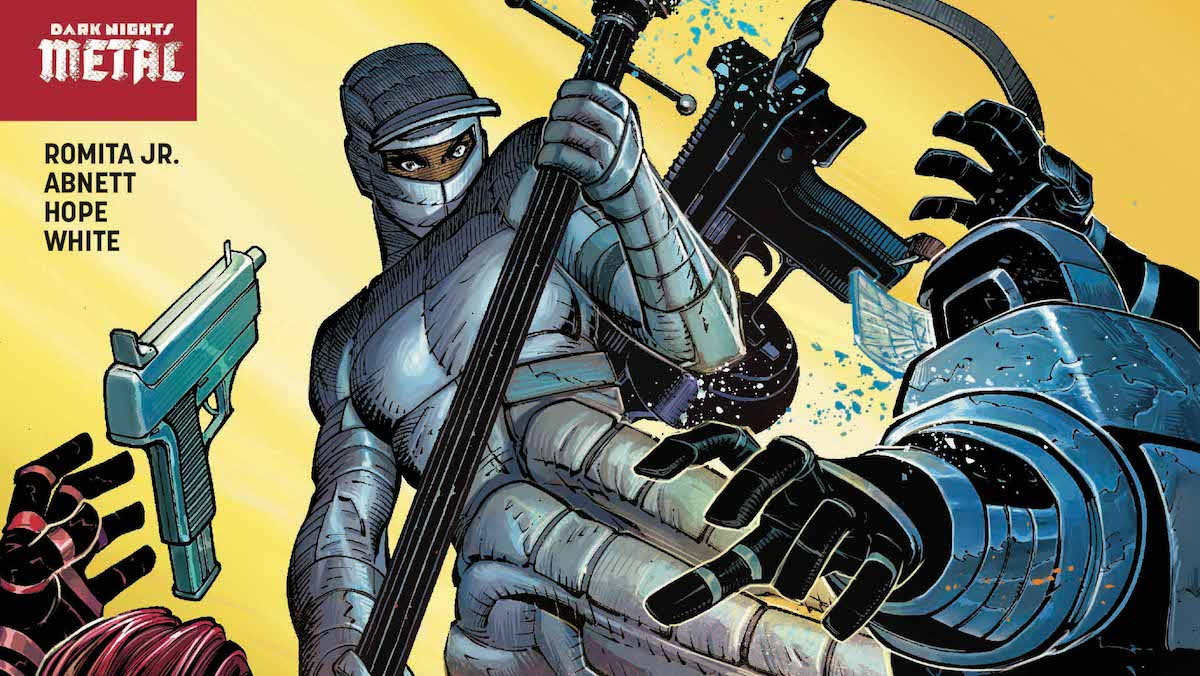 The Silencer #2 cover