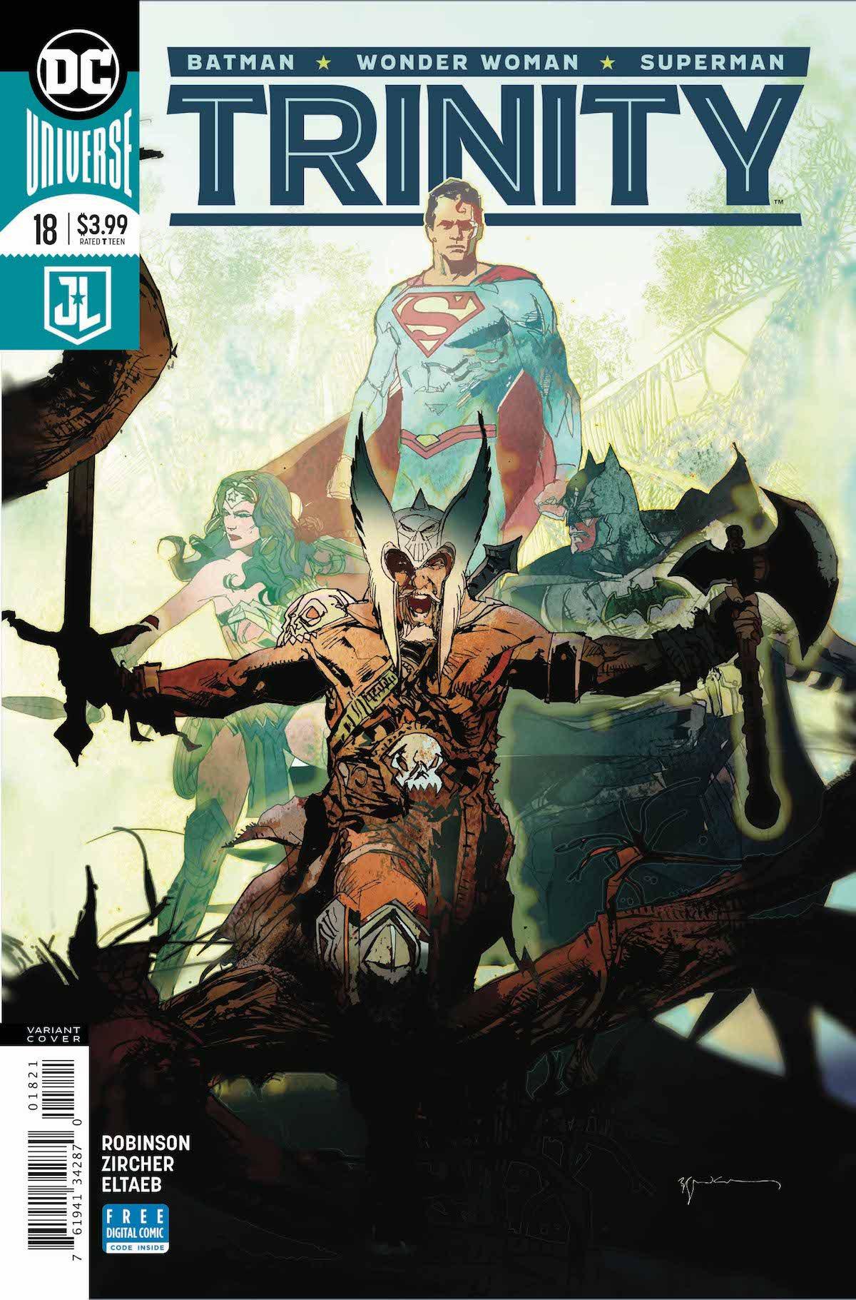 Trinity #18 variant cover