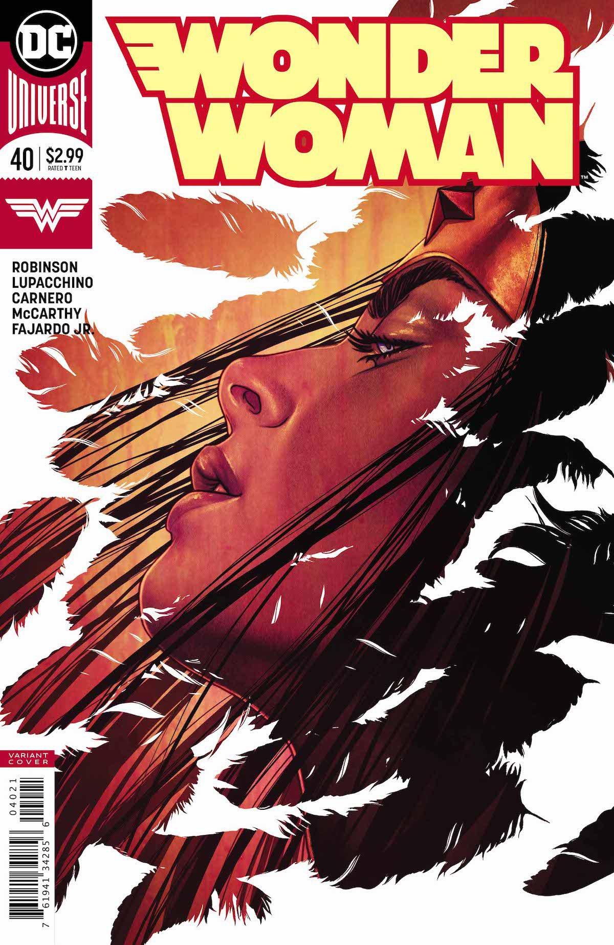 Wonder Woman #40 variant cover