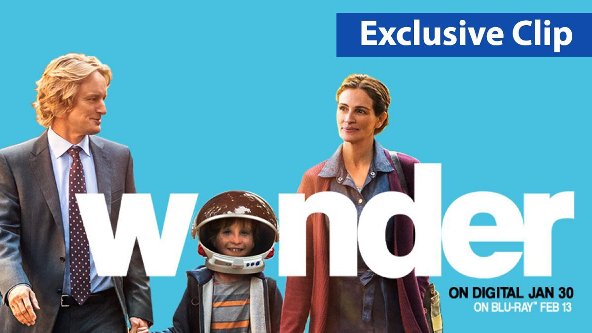 'Wonder' exclusive movie clip