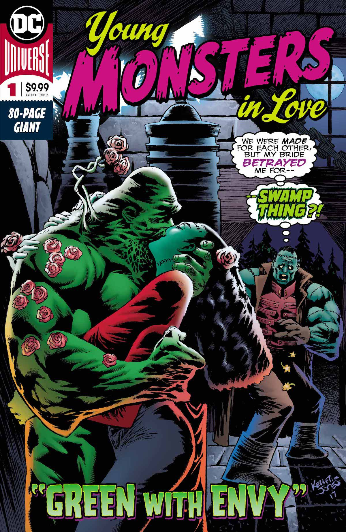 Young Monsters In Love #1 cover