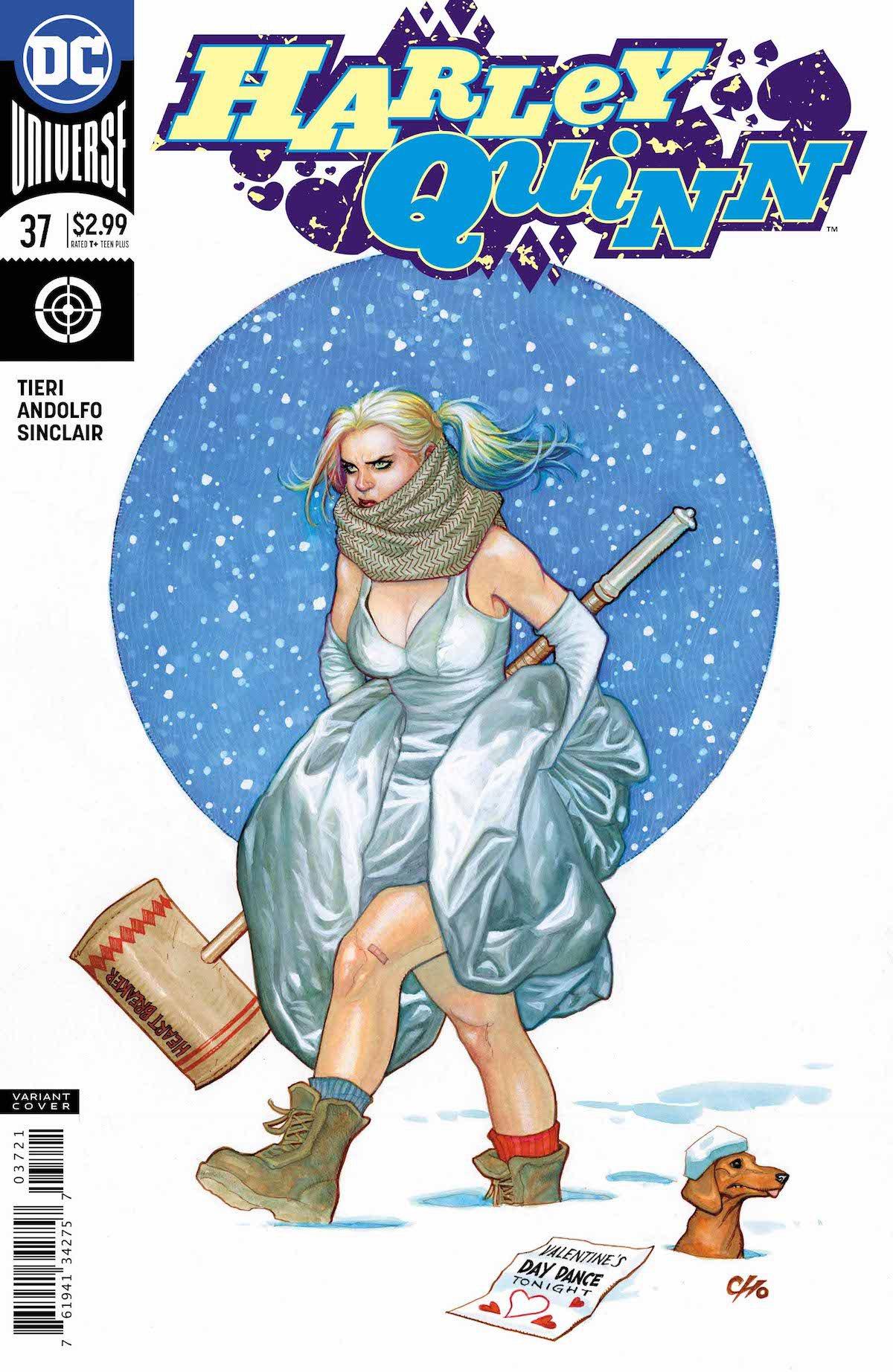 Harley Quinn #37 variant cover