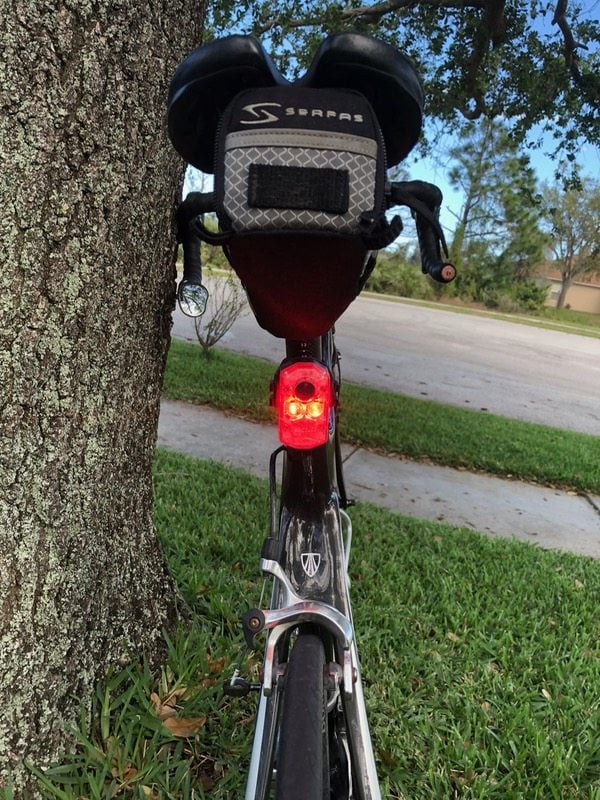 ICON+ rear bike light