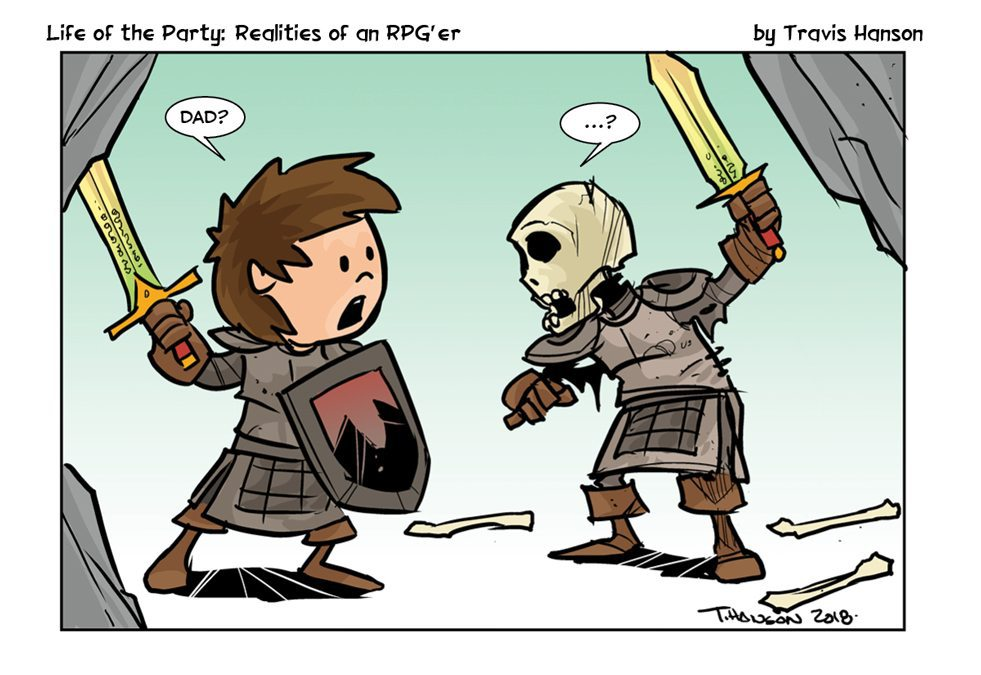 Life of the Party Comic Archives - GeekDad