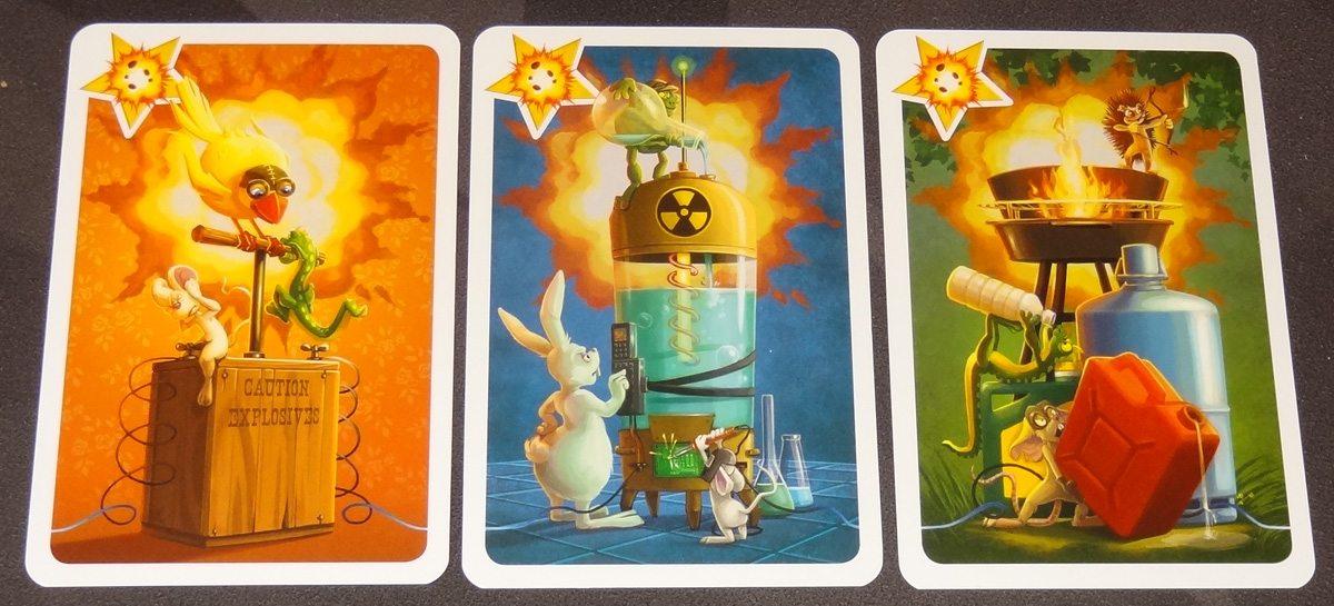ARGH bomb cards