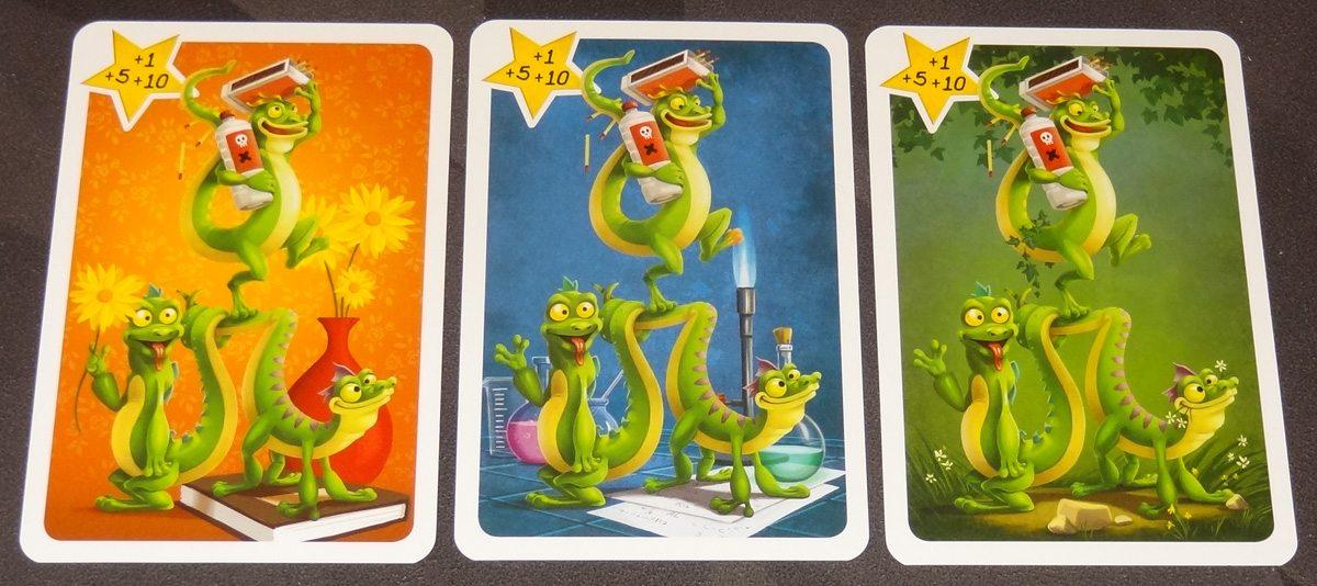 ARGH lizard cards