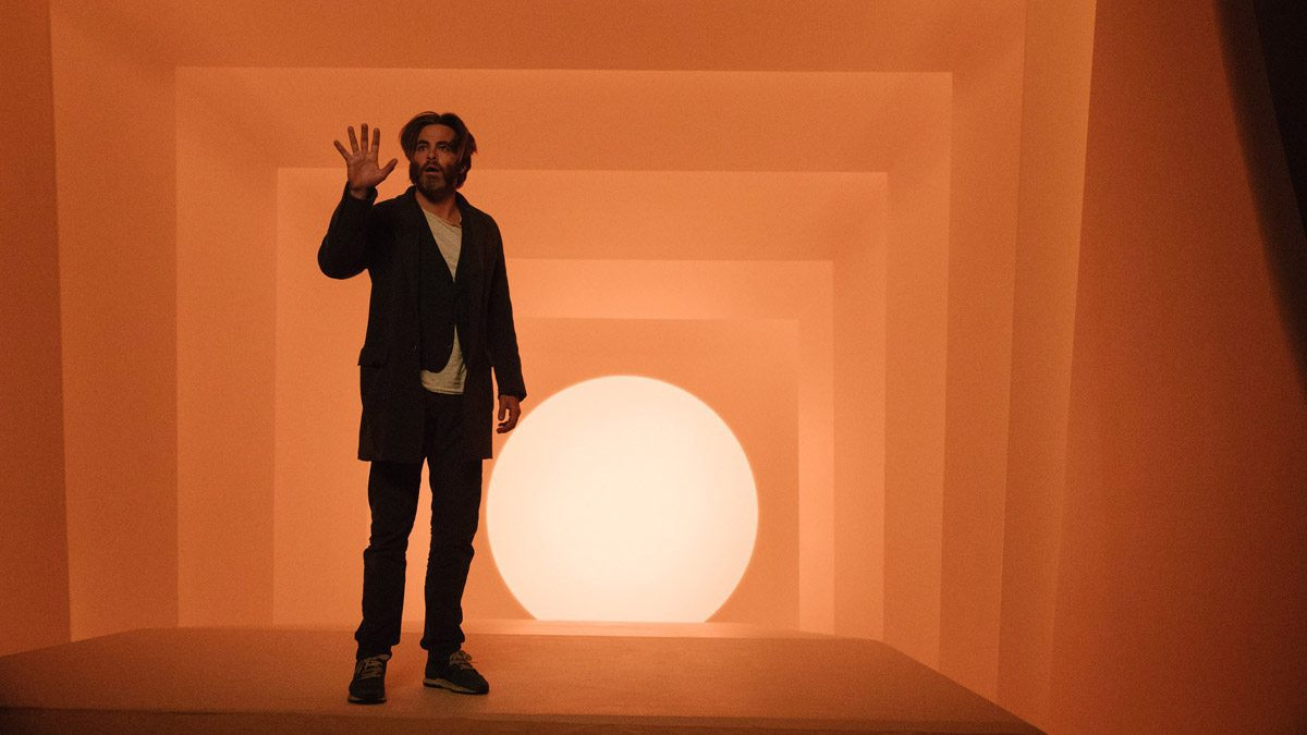 Dr. Murry (Chris Pine) is trapped on the planet Camazotz in 'A Wrinkle in Time'.