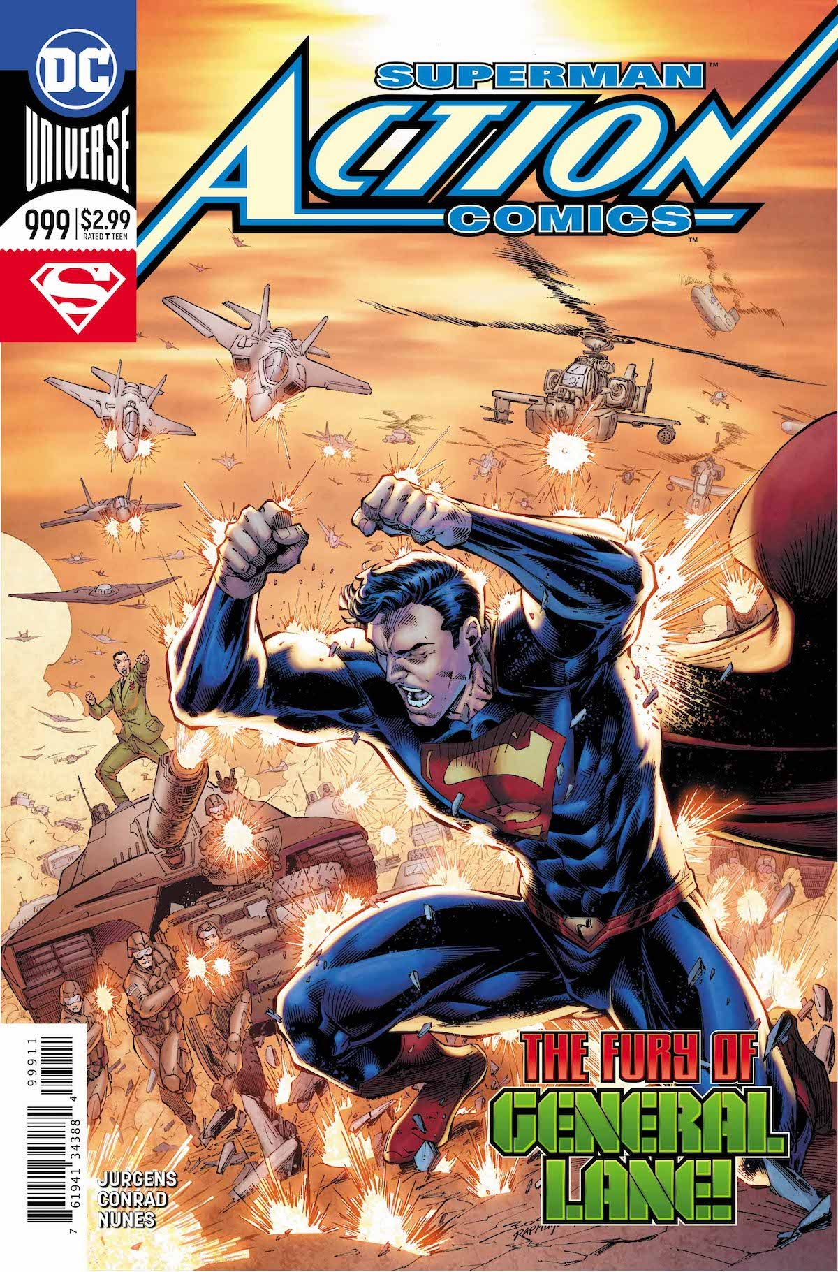 Action Comics #999 cover