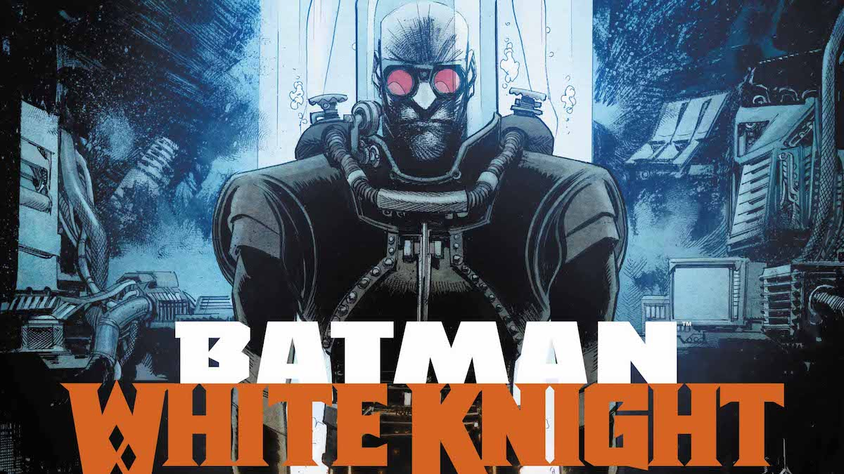 Batman: White Knight #6 cover