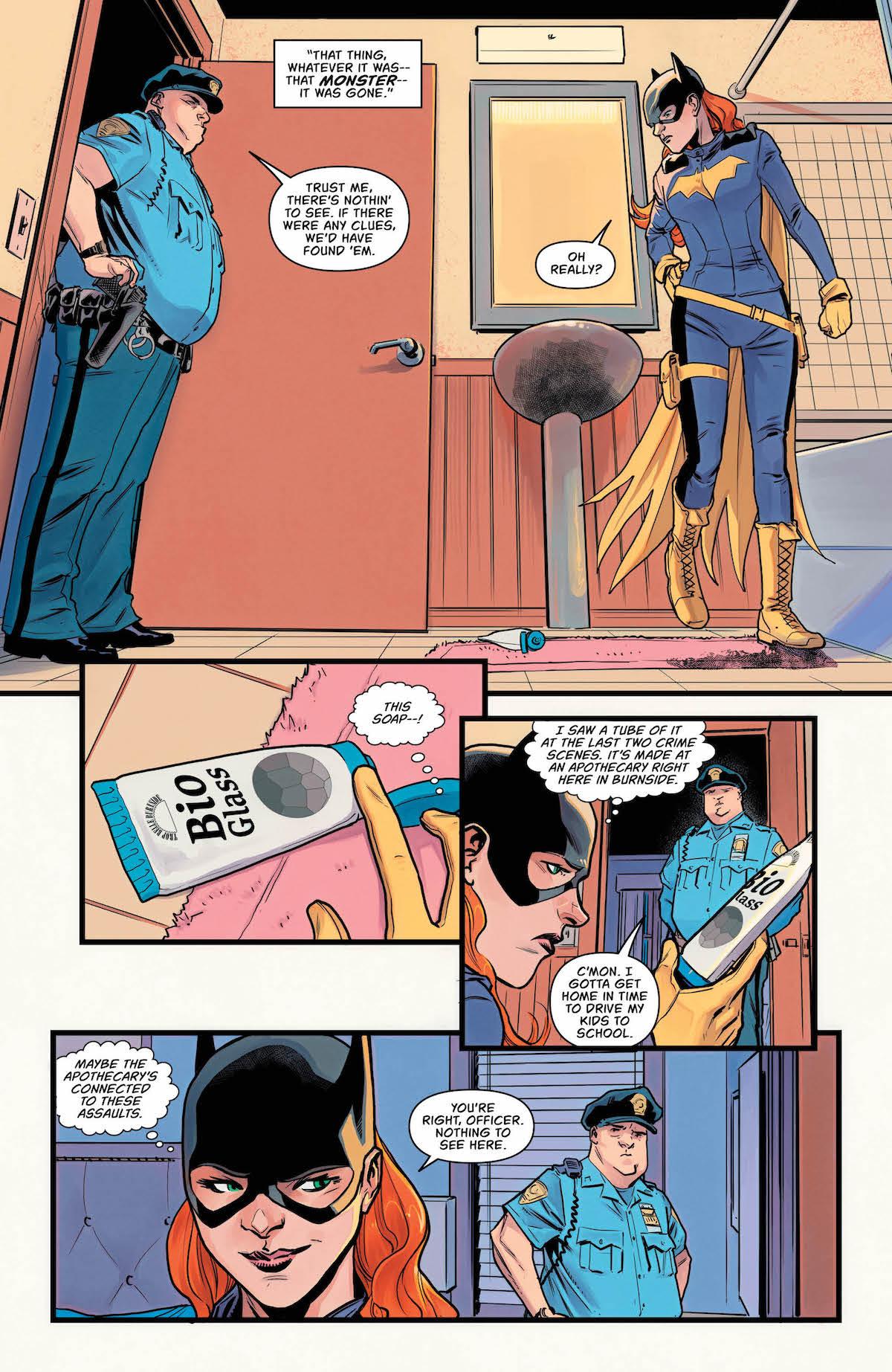 Batgirl #21 page 5