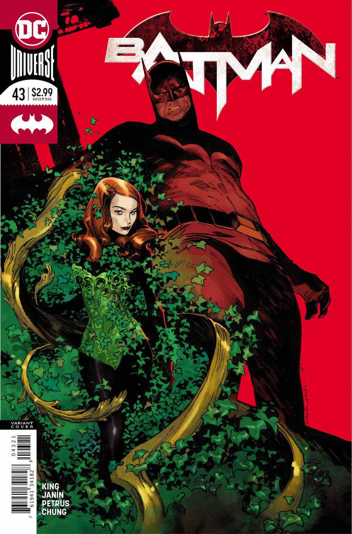Batman #43 variant cover