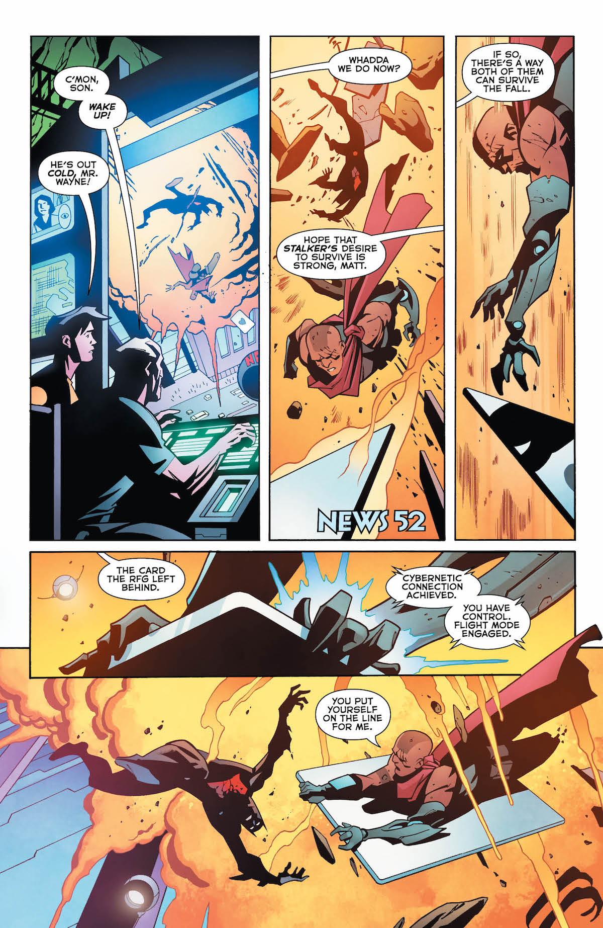 Batman Beyond #18 page 3