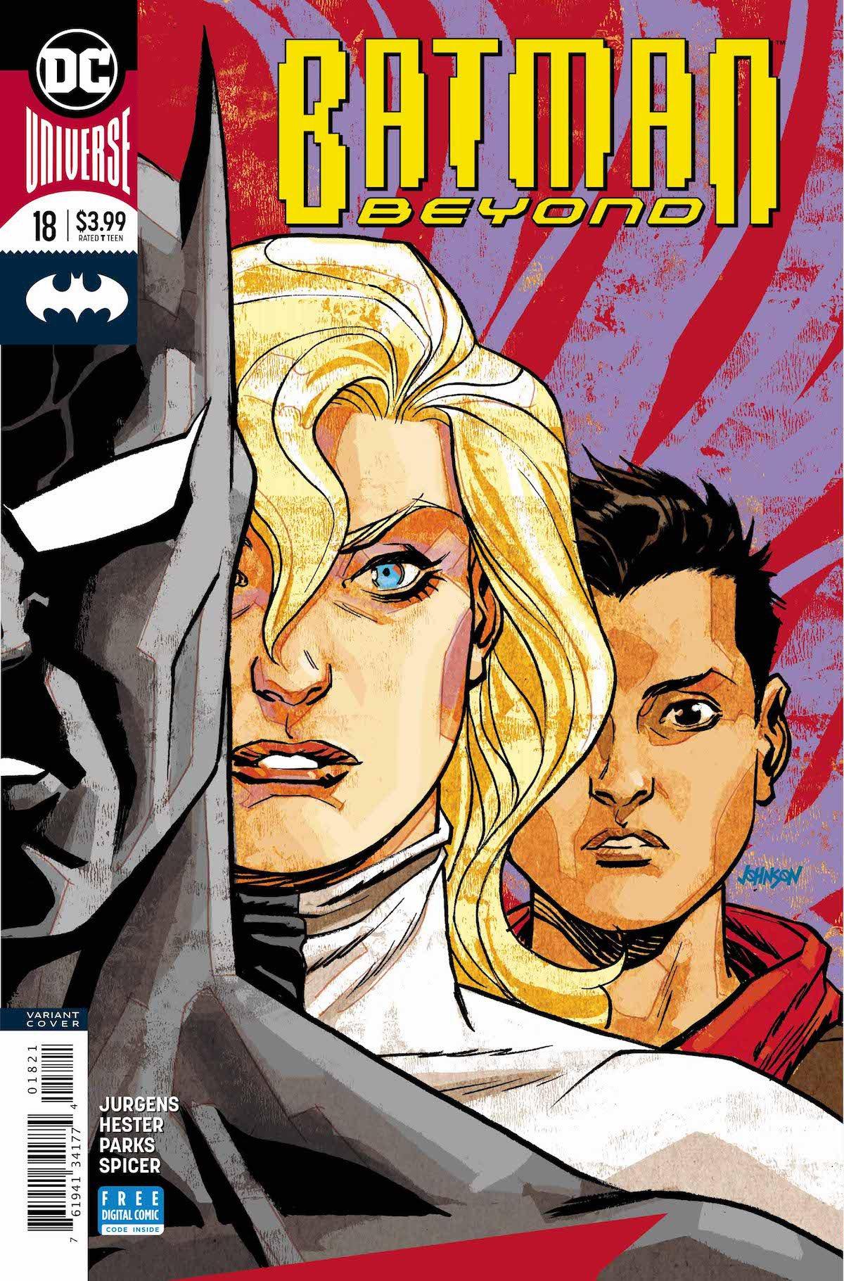 Batman Beyond #18 variant cover