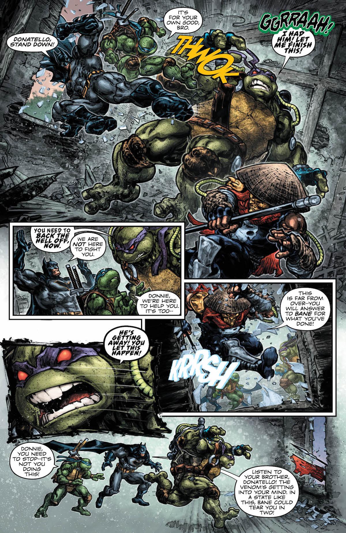 Batman Teenage Mutant Ninja Turtles 2 #5 page
