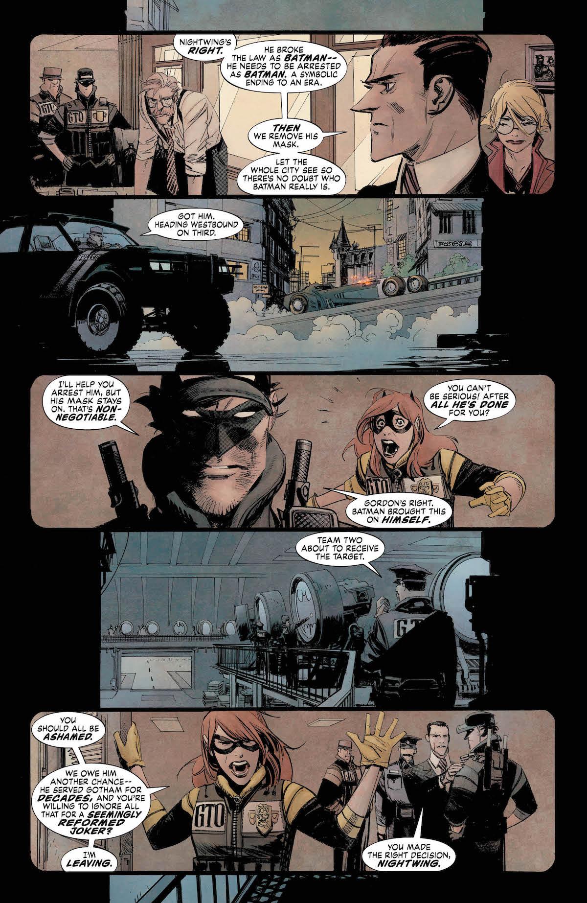 Batman: White Knight #6 page 2