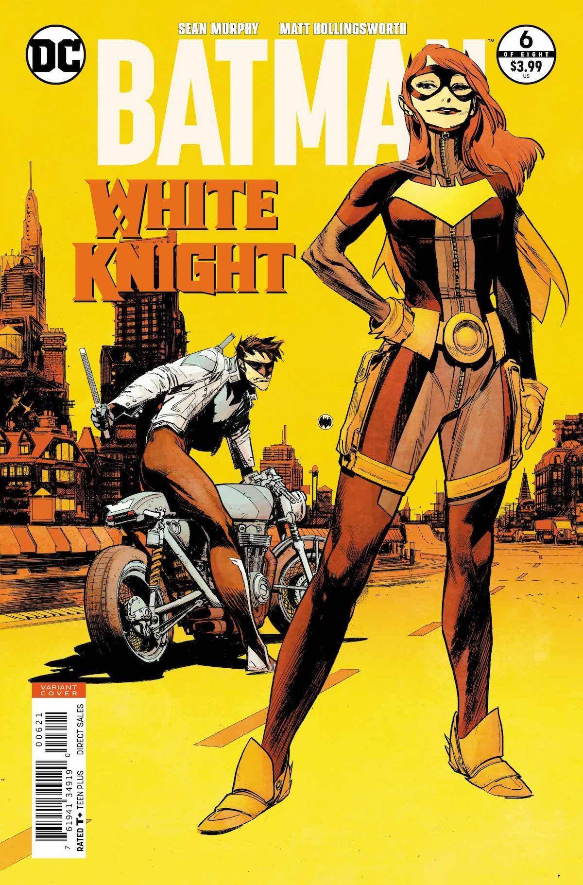 Batman: White Knight #6 variant cover