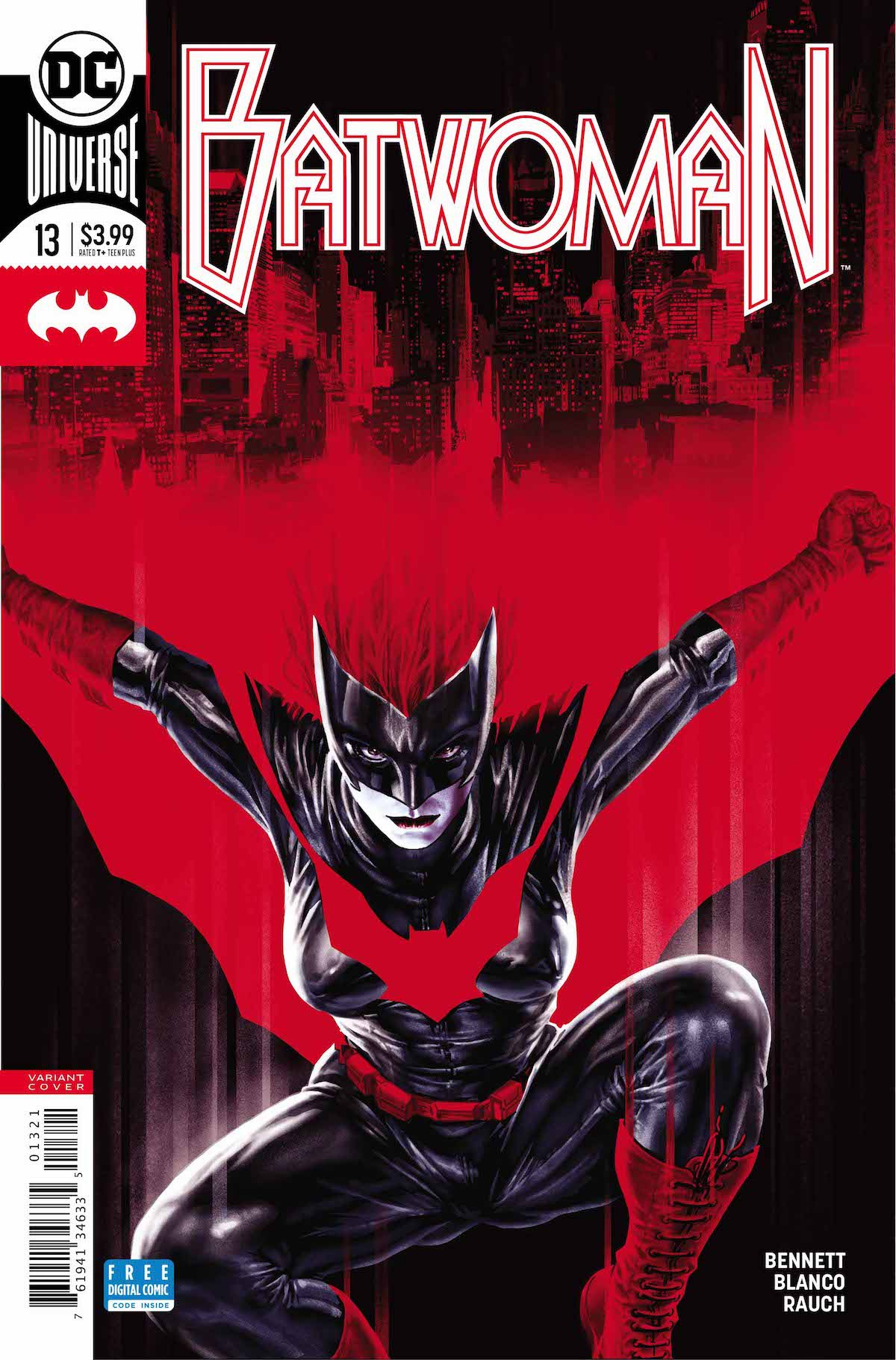 Batwoman #13 variant cover