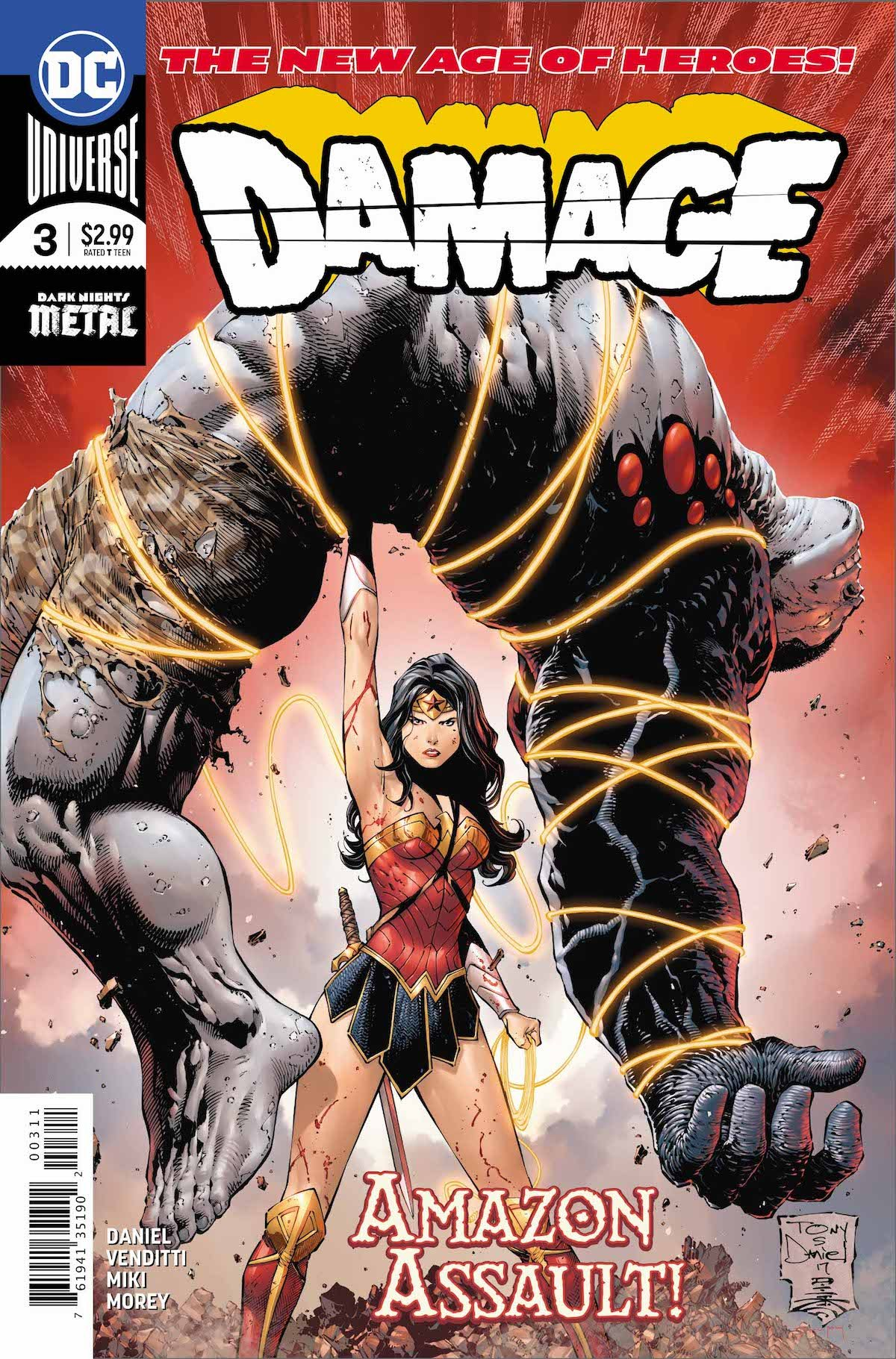 Damage #3 cover