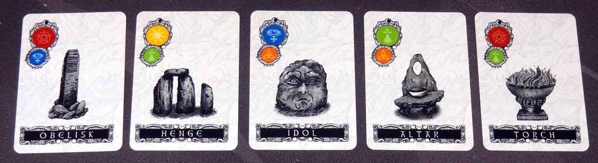 Darkness Card Game artifact cards