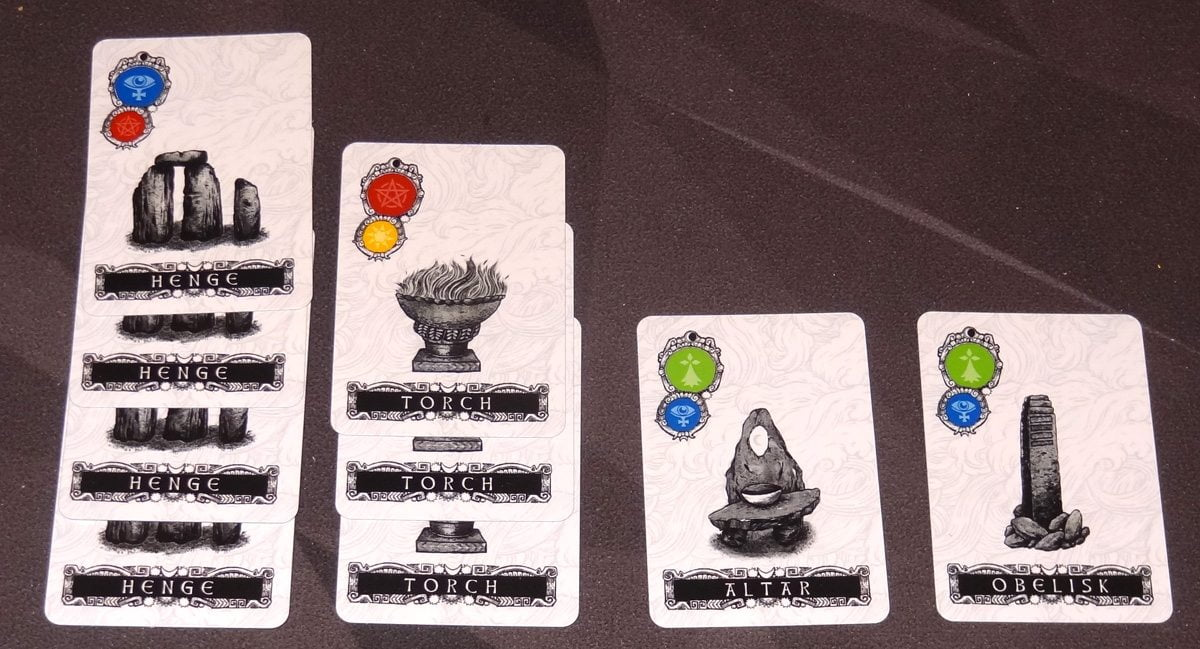 Darkness Card Game sets