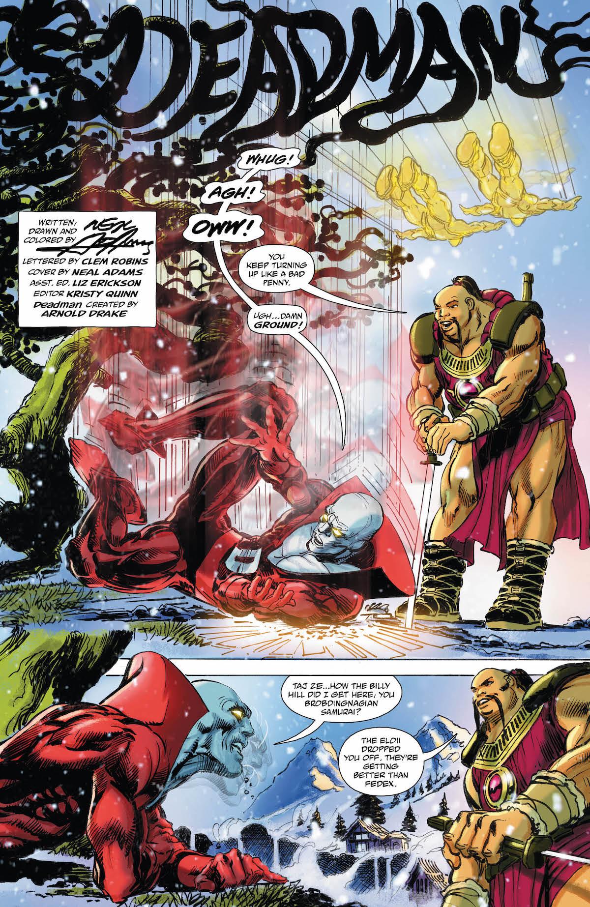 Deadman #5 page 1