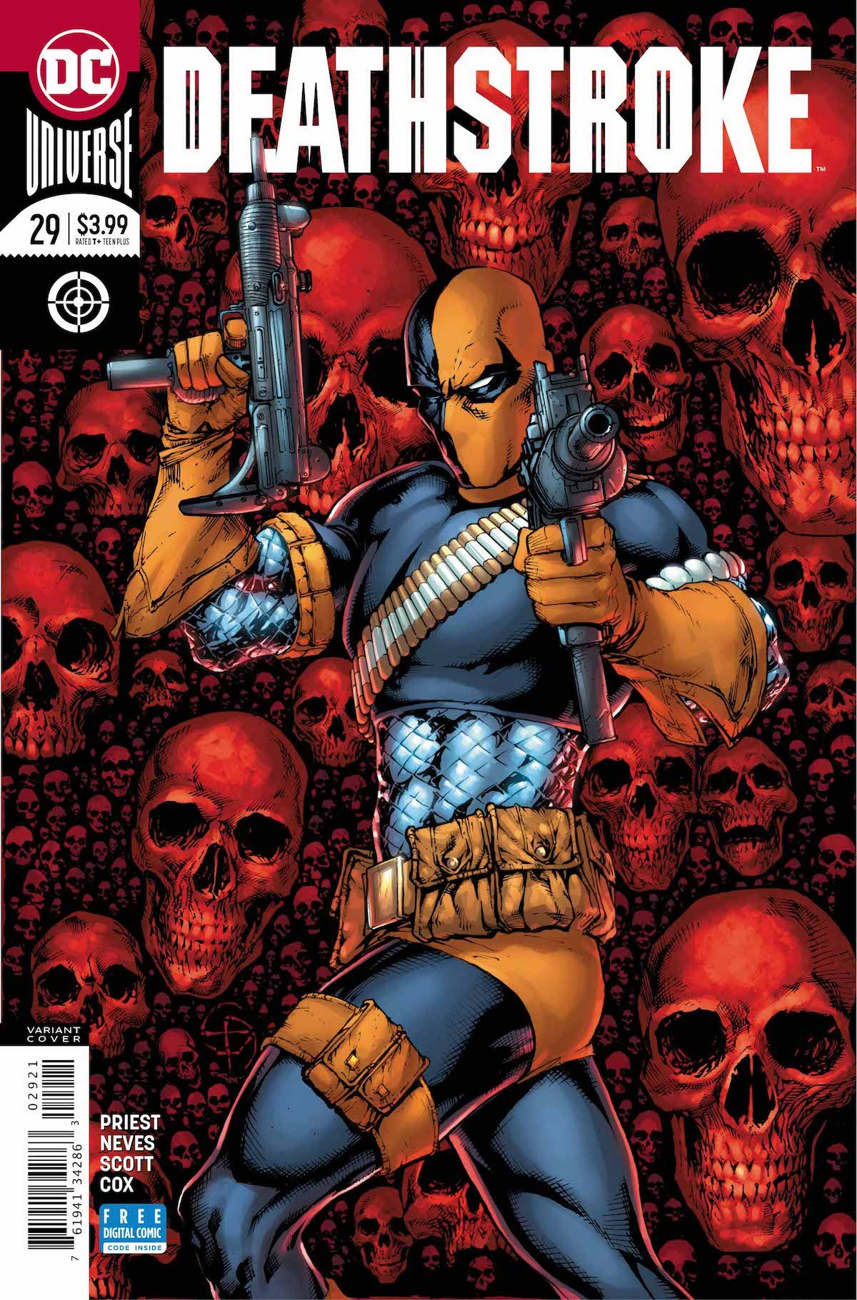 Deathstroke #29 variant cover
