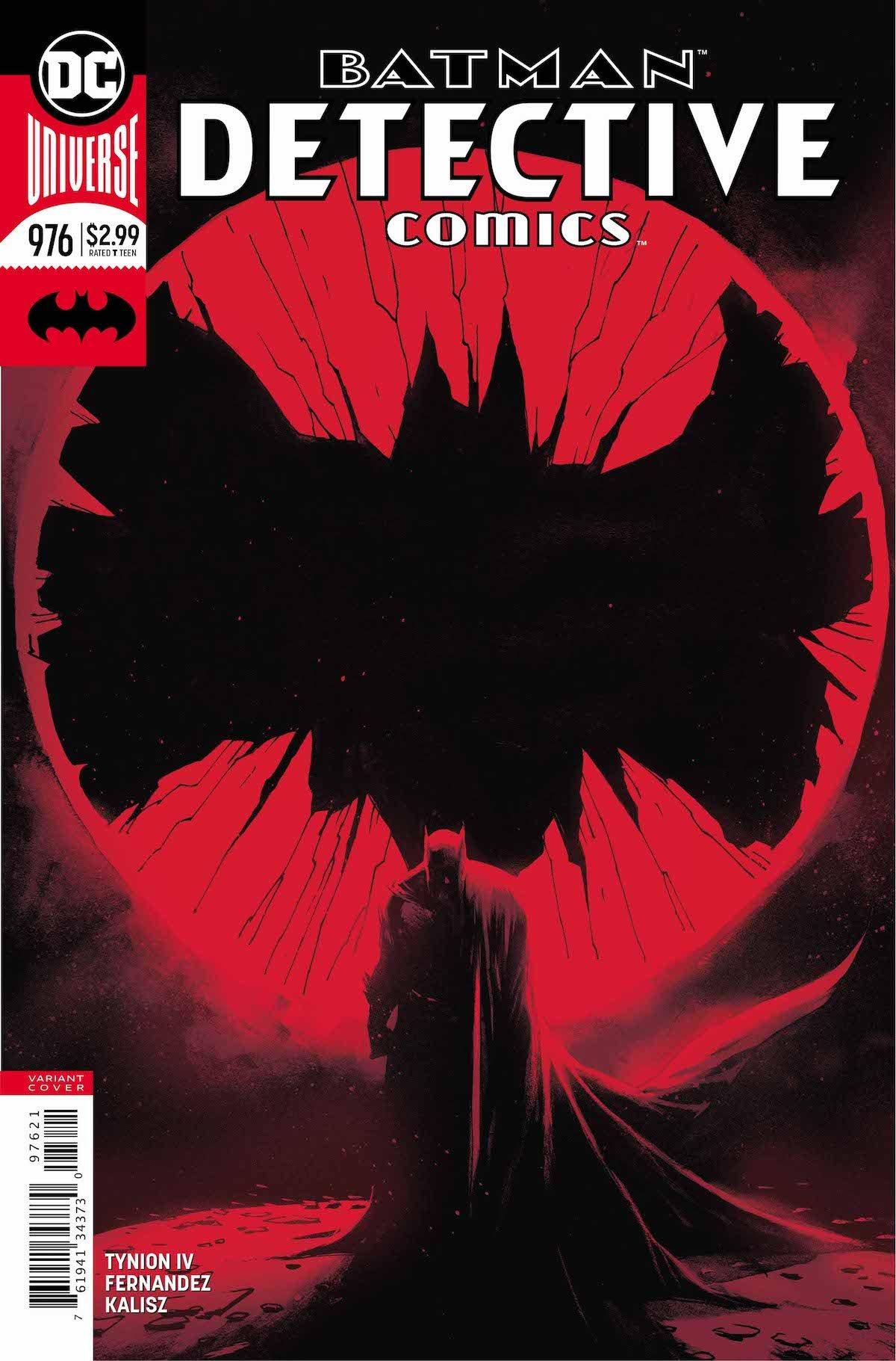Detective Comics #976 variant cover