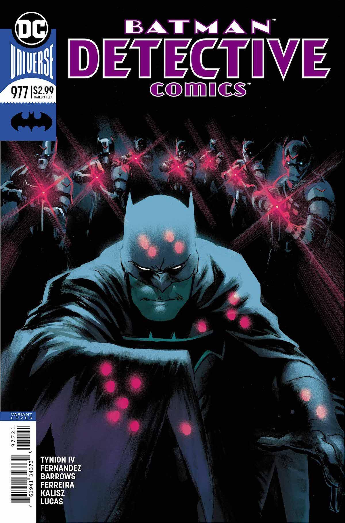 Detective Comics #977 variant cover