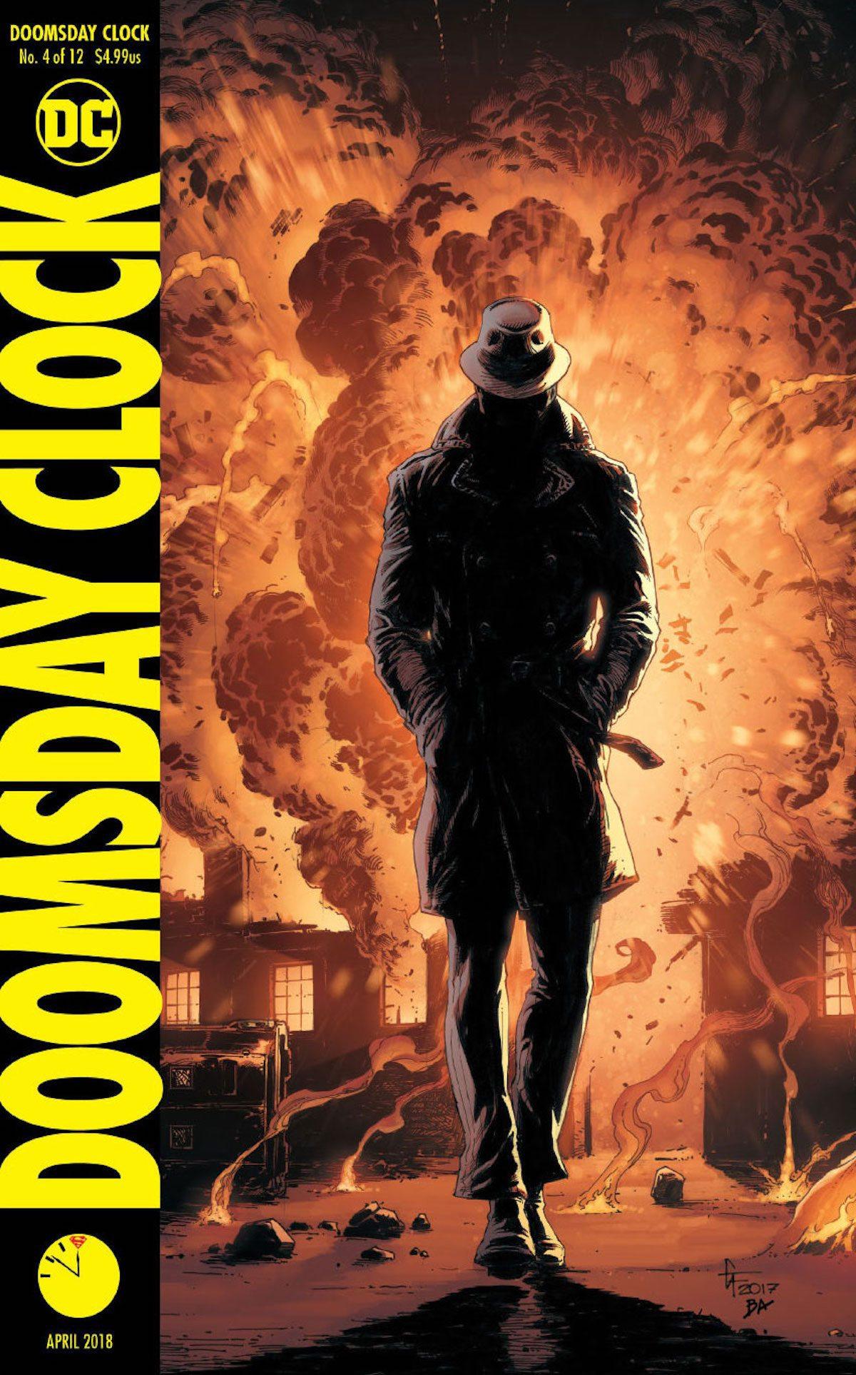 Doomsday Clock #4 cover
