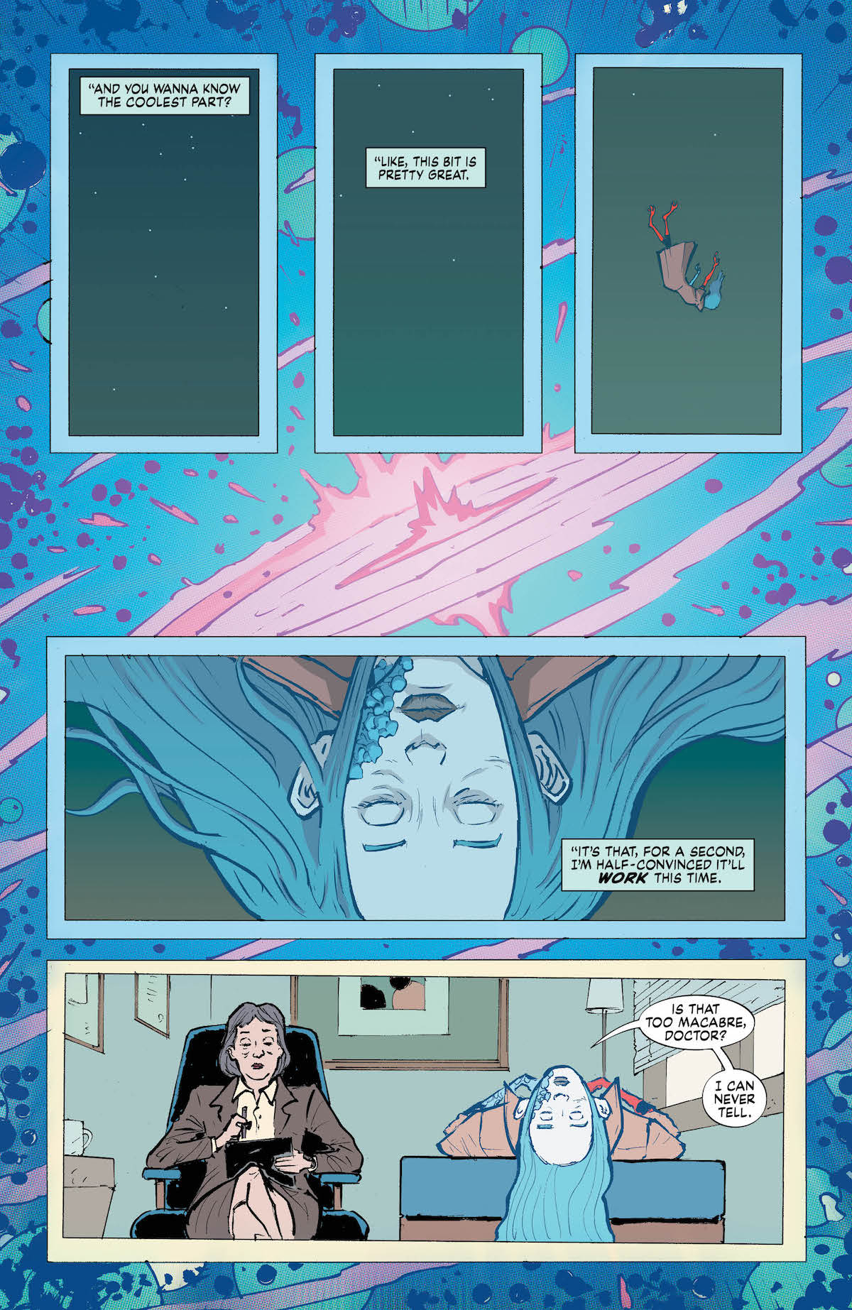 Eternity Girl #1 page 3