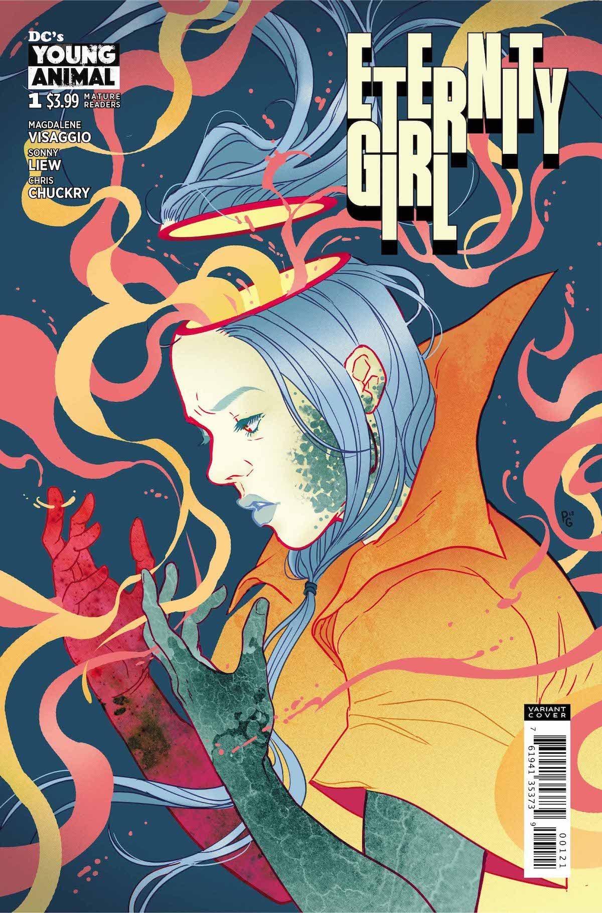Eternity Girl #1 variant cover