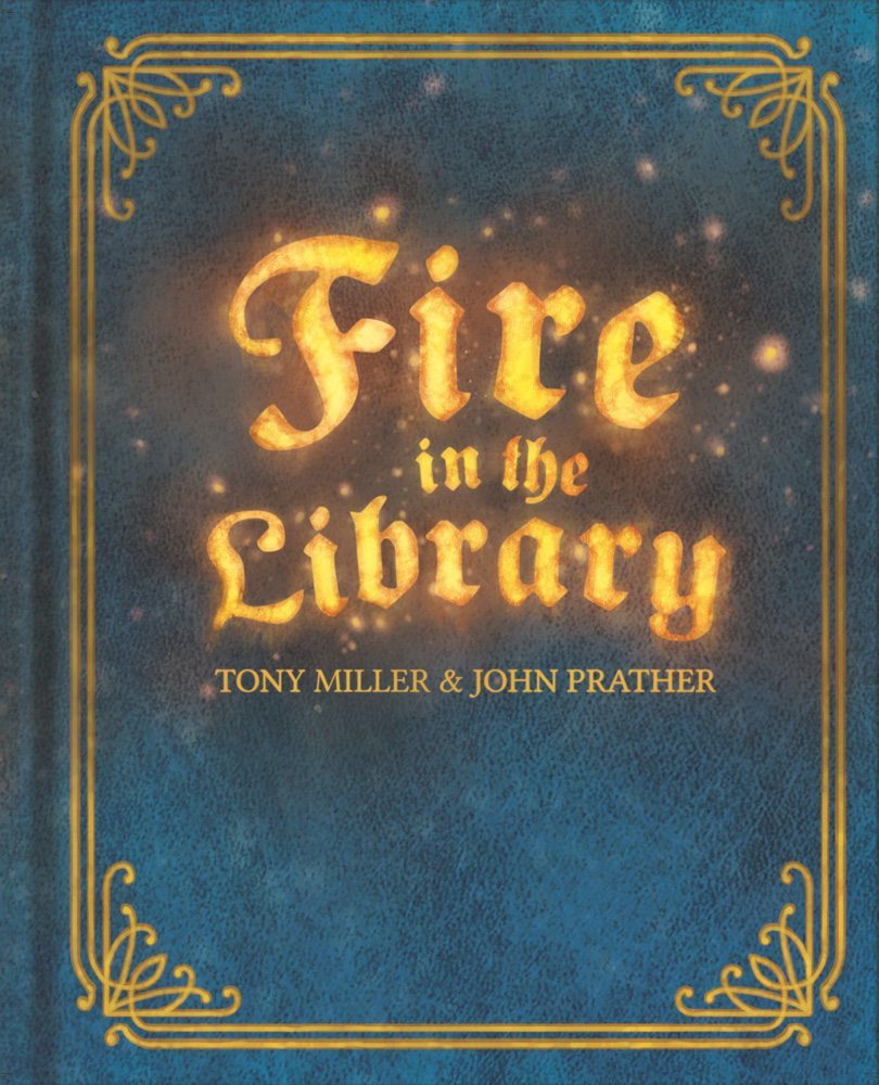 Fire in the Library cover
