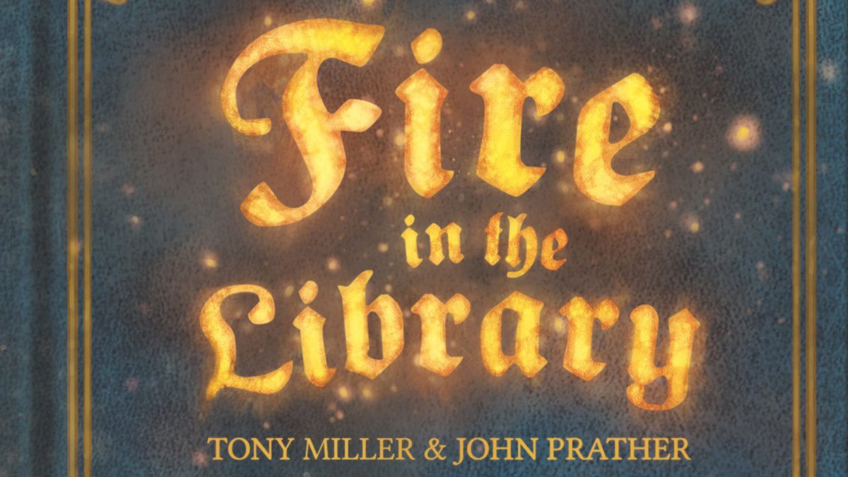 Fire in the Library featured
