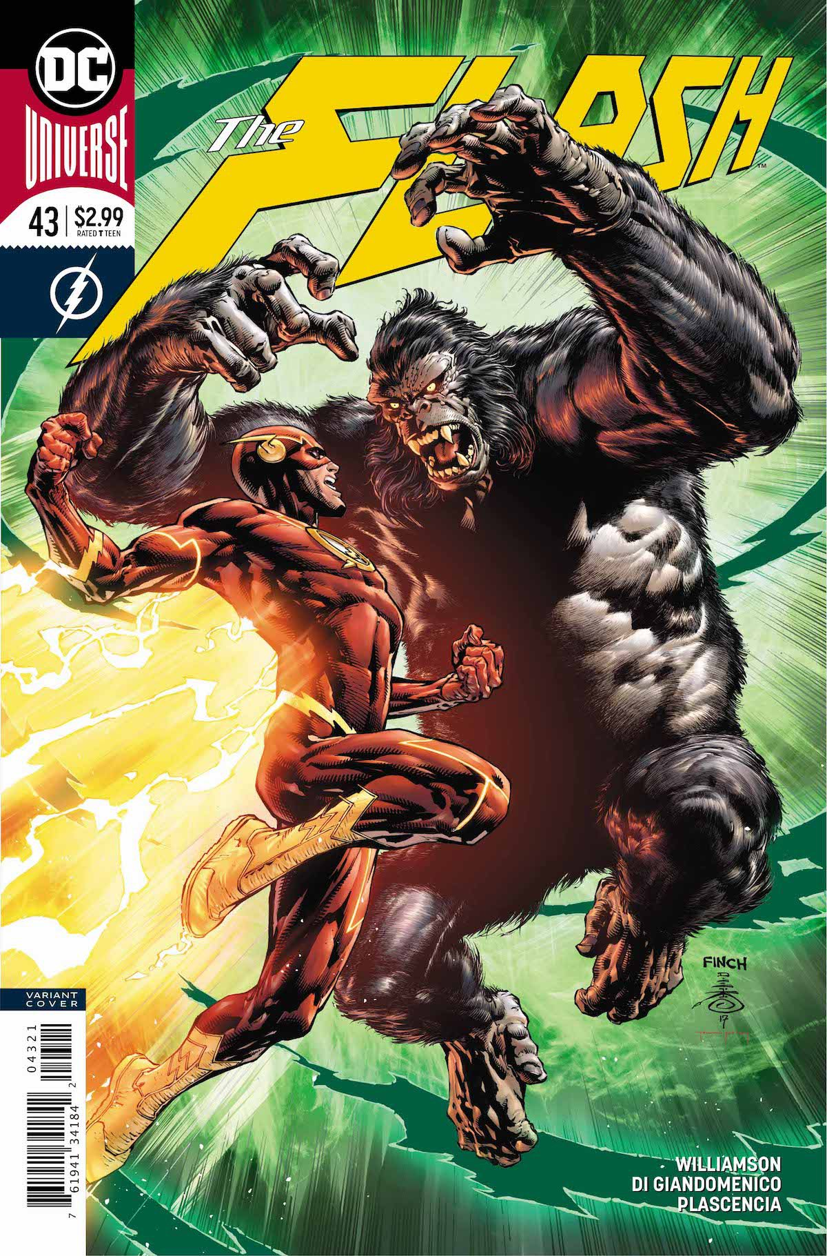 Flash #43 variant cover