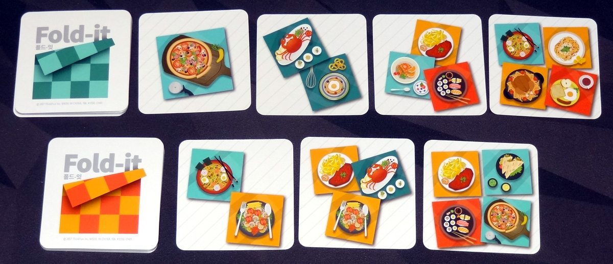 Fold-it order cards