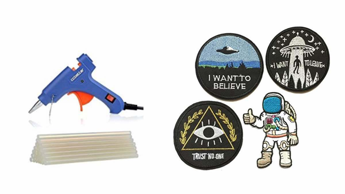 Geek Daily Deals 030118 glue gun space patches