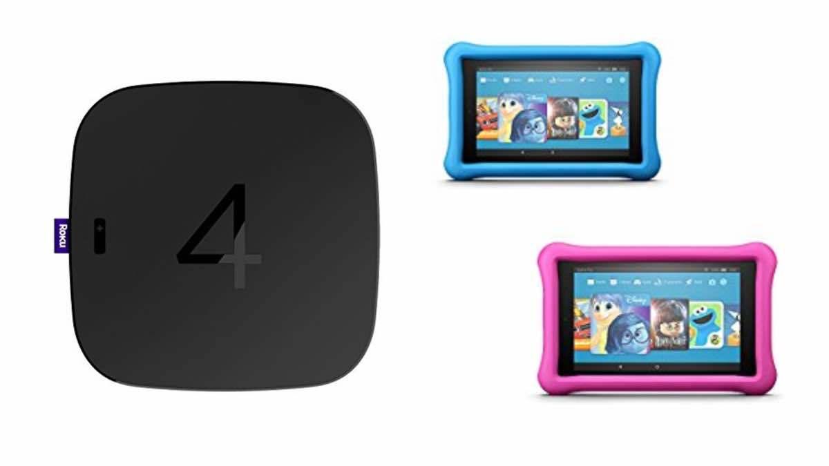 Geek Daily Deals 030518 roku 4 kindle fire kids tablets