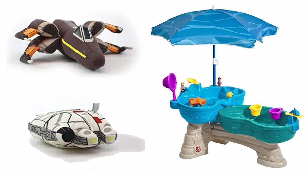 Geek Daily Deals 030618 star wars plushies water table