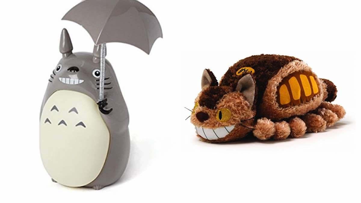 Geek Daily Deals 031018 totoro lamp catbus plush