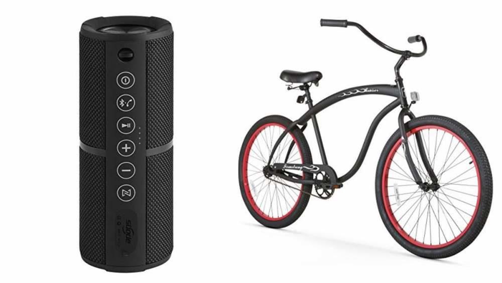 Geek Daily Deals 031718 waterproof bluetooth speaker bikes