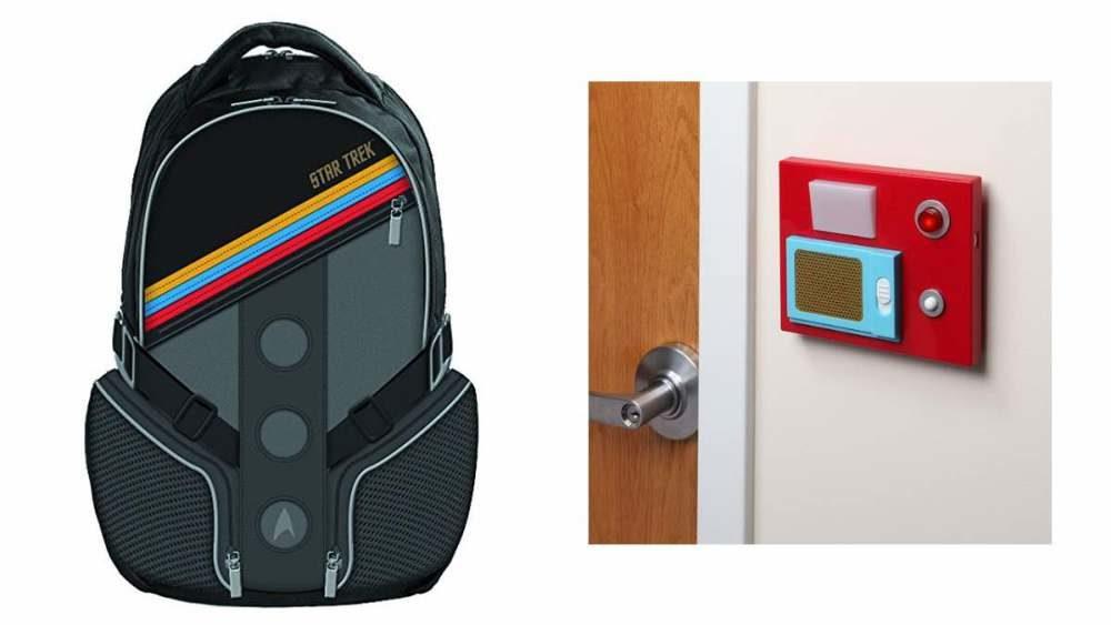 Geek Daily Deals 031818 star trek backpack door chime