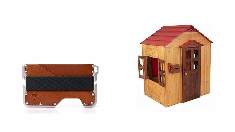 Geek Daily Deals 032418 EDC wallet wooden play house